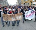 Chile, protestos estudantis.