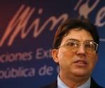 Bruno Rodriguez Parrilla, canciller cubano