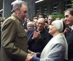Fidel Castro com Alicia Alonso
