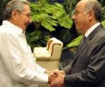 Raul canciller brasil recibe