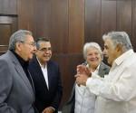 Raul y Mujica