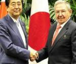 Raul y primer ministro japon