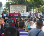 jovenes universitarios denuncian