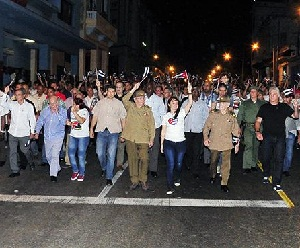 Raul marcha antorchas