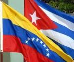 banderas cuba Venezuela